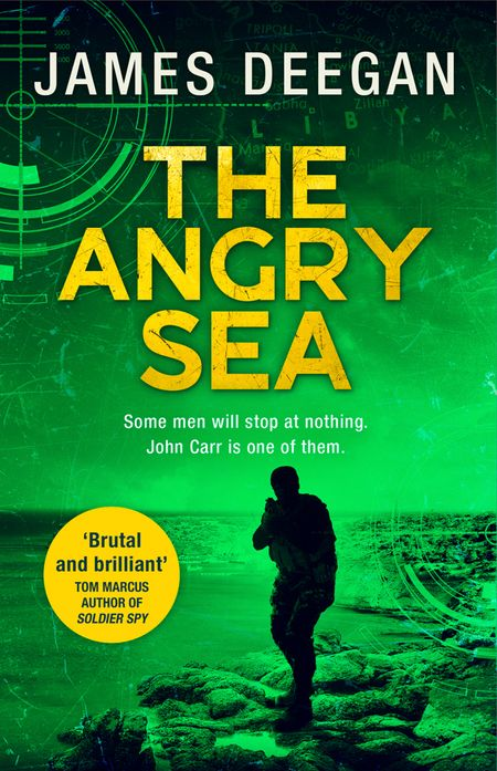 The Angry Sea (John Carr, Book 2) - James Deegan