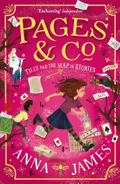 Pages & Co.: Tilly and the Map of Stories (Pages & Co., Book 3) - Anna James