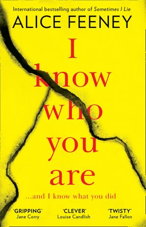 I Know Who You Are Paperback  by Alice Feeney