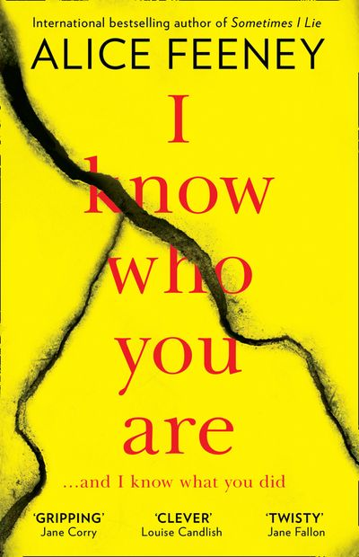 I Know Who You Are - Alice Feeney