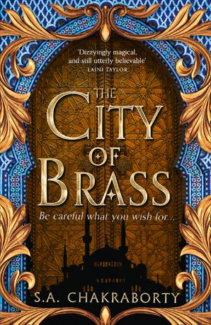 Image result for city of brass harpercollins
