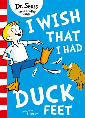 I Wish That I Had Duck Feet Paperback Green Back Book edition by Dr. Seuss