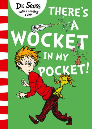 There's a Wocket in my Pocket Paperback Blue Back Book edition by Dr. Seuss