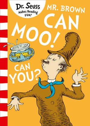 Mr. Brown Can Moo! Can You? Paperback Blue Back Book edition by Dr. Seuss