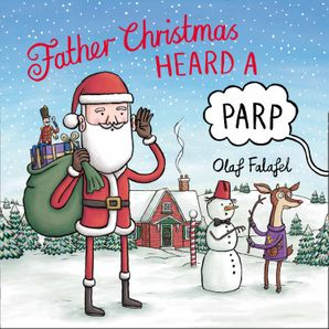 Father Christmas Heard a Parp Paperback  by