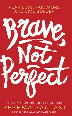 Brave, Not Perfect Hardcover  by