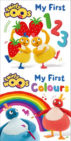 My First 123 & My First Colours (Twirlywoos) eBook  by No Author