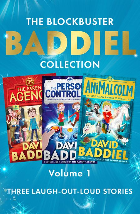 The Blockbuster Baddiel Collection: The Parent Agency; The Person Controller; AniMalcolm - David Baddiel