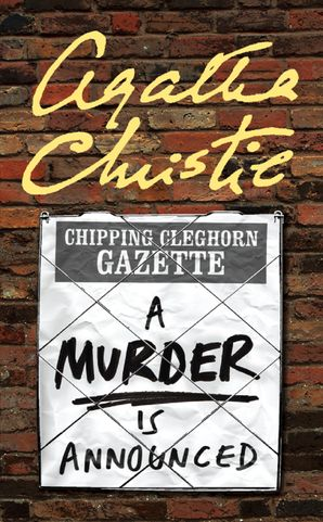 A Murder is Announced (Miss Marple) Paperback  by Agatha Christie