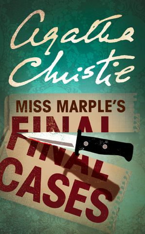 Miss Marple's Final Cases (Miss Marple) Paperback  by Agatha Christie
