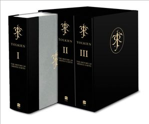 The Complete History of Middle-earth Hardcover Deluxe Boxed Set edition by Christopher Tolkien