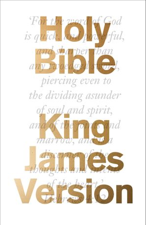 The Bible: King James Version (KJV) Hardcover  by