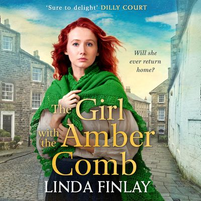 The Girl with the Amber Comb - Linda Finlay, Read by Charlie Sanderson