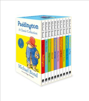 Paddington: A Classic Collection Paperback 10-book Slipcase edition by Michael Bond