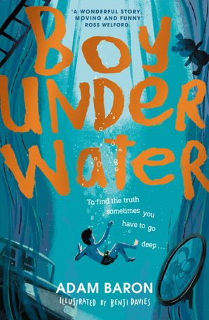 Boy Underwater Paperback  by Adam Baron