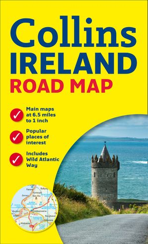 Ireland Road Map   by No Author