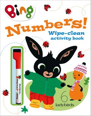 Numbers!: Wipe-clean activity book (Bing) Paperback  by No Author