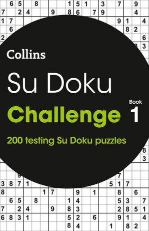 Su Doku Challenge book 1: 200 Su Doku puzzles Paperback  by No Author
