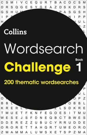 Wordsearch Challenge book 1: 200 themed wordsearch puzzles Paperback  by No Author