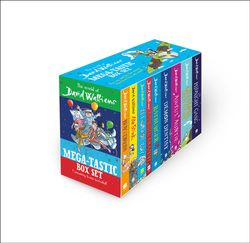 The World of David Walliams: Mega-tastic Box Set