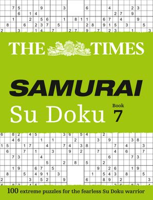 The Times Samurai Su Doku 7: 100 challenging puzzles from The Times Paperback  by No Author