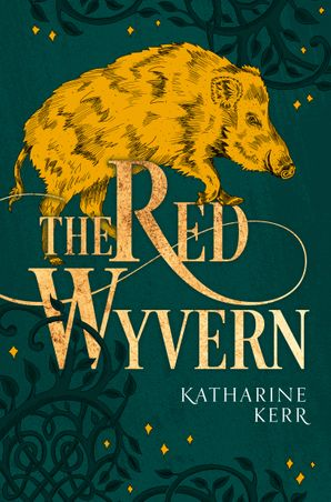 The Red Wyvern (The Dragon Mage, Book 1) Paperback  by Katharine Kerr