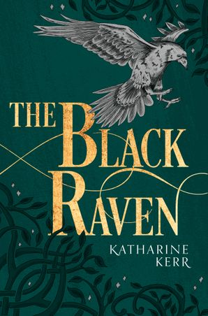 The Black Raven (The Dragon Mage, Book 2) Paperback  by Katharine Kerr