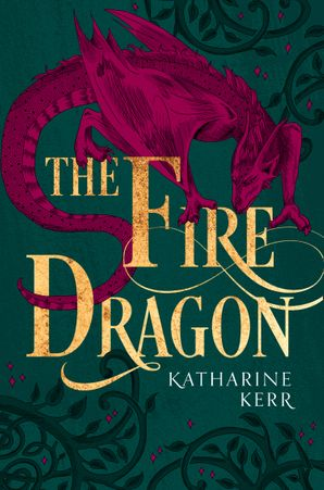 The Fire Dragon (The Dragon Mage, Book 3) Paperback  by Katharine Kerr