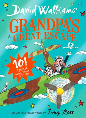 Grandpa's Great Escape: Limited Gift Edition of David Walliams' Bestselling Children's Book Hardcover  by