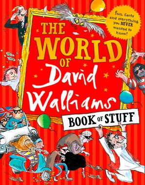 The World of David Walliams Book of Stuff Paperback  by David Walliams