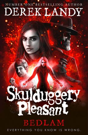 Bedlam (Skulduggery Pleasant, Book 12) Hardcover  by Derek Landy