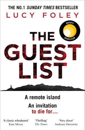 The Guest List Hardcover  by Lucy Foley