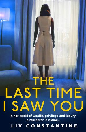 The Last Time I Saw You Paperback  by Liv Constantine