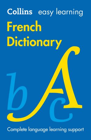 Easy Learning French Dictionary Paperback Eighth edition by