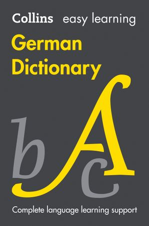 Easy Learning German Dictionary Paperback Ninth edition by