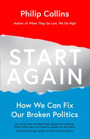 Start Again Paperback  by Philip Collins
