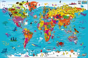 collins-childrens-world-wall-laminated-map