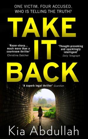Take It Back Paperback  by Kia Abdullah