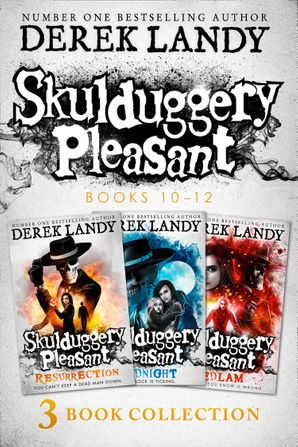 Skulduggery Pleasant: Books 10 - 12 eBook  by