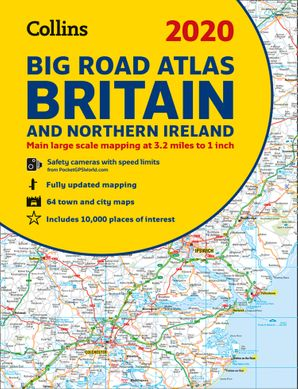 2020 Collins Big Road Atlas Britain and Northern Ireland Paperback New edition by No Author