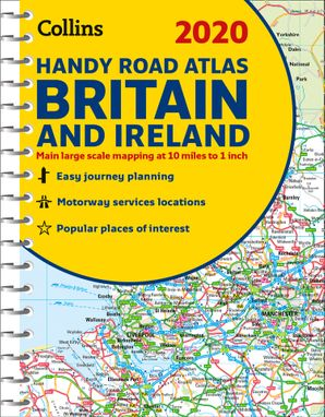 2020 Collins Handy Road Atlas Britain and Ireland Spiral bound New edition by No Author