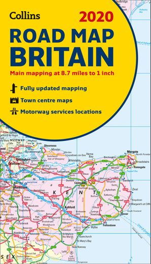 2020 Collins Map of Britain  New edition by No Author