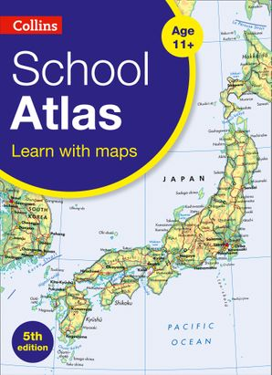 Collins School Atlas (Collins Primary Atlases) Paperback  by No Author