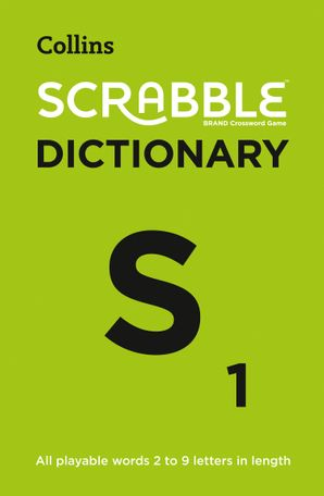 Collins Scrabble Dictionary: The official Scrabble solver - all playable words 2 - 9 letters in length Paperback Fifth edition by
