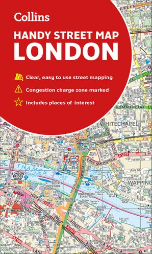 Collins London Handy Street Map  New edition by