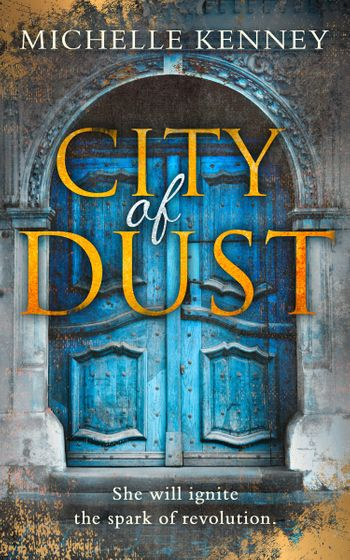 City of Dust (The Book of Fire series, Book 2) - Michelle Kenney