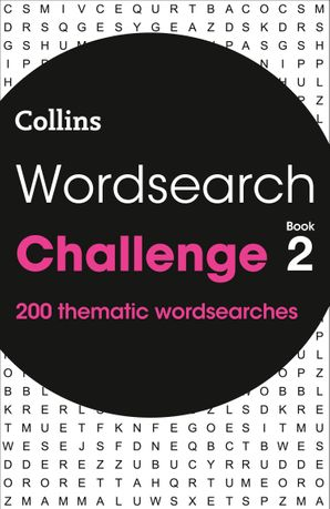 Wordsearch Challenge book 2 Paperback  by