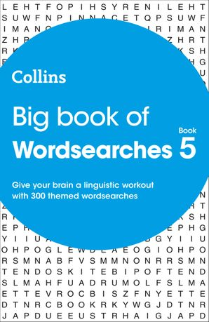 Big Book of Wordsearches book 5: 300 themed wordsearches Paperback  by No Author