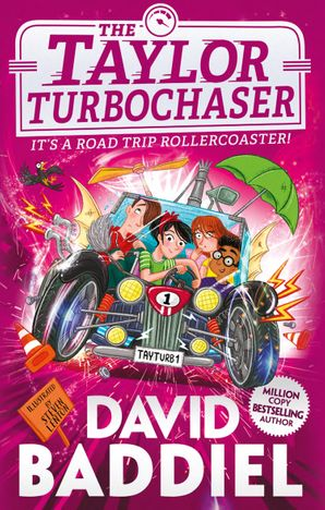 The Taylor TurboChaser Hardcover  by David Baddiel