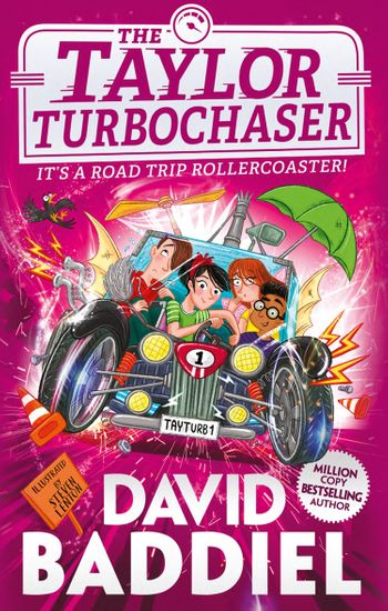 The Taylor TurboChaser - David Baddiel, Illustrated by Steven Lenton